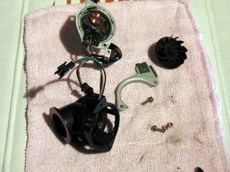 内気温センサー デイムラ- 分解