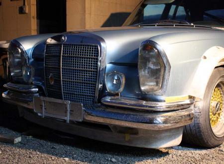 ベンツ W108 280SE 3.5 フロントスポイラー