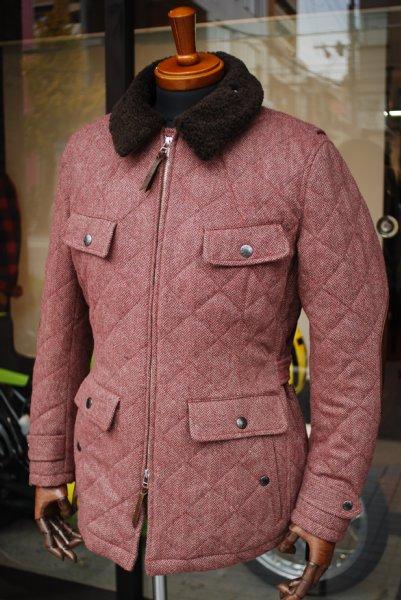 マックスフリッツ MFB-1762 ツイードキルティングジャケット
