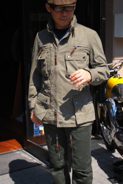 マックスフリッツ神戸 MFJ-1745/ダブルジップブッシュジャケット
