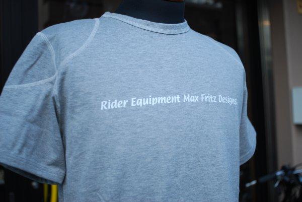 MFT-1750/アクアプルーTシャツ 杢グレー