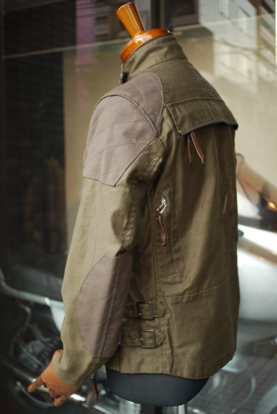 マックスフリッツ神戸 MFB-1708 エアインテークショートジャケット