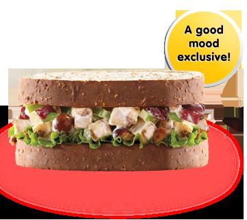 pecan chickin salad sandwich