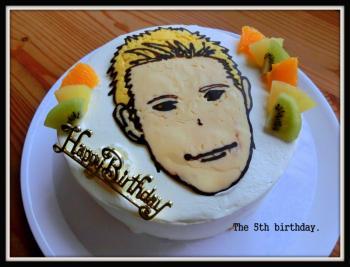 本田圭佑ケーキ