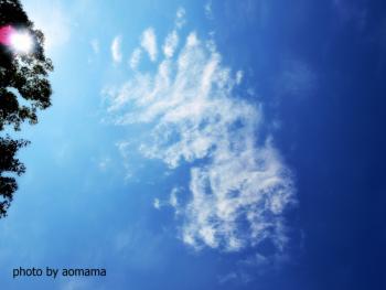 穂高神社からの空
