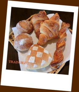 トランブルーのパン達