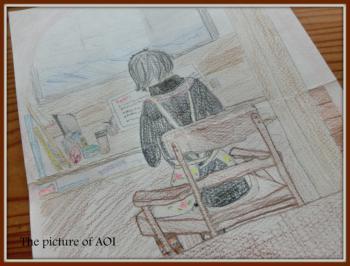 10歳葵の絵