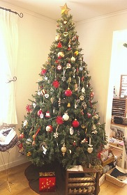 2012Atelier Estanciaのクリスマスツリー