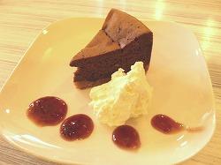 N24 自家製ショコラのチーズケーキ