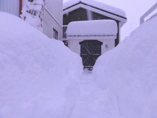 エスタンシアさんの雪2012
