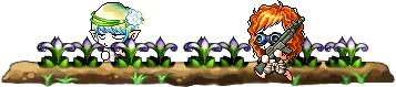 花畑の戦争
