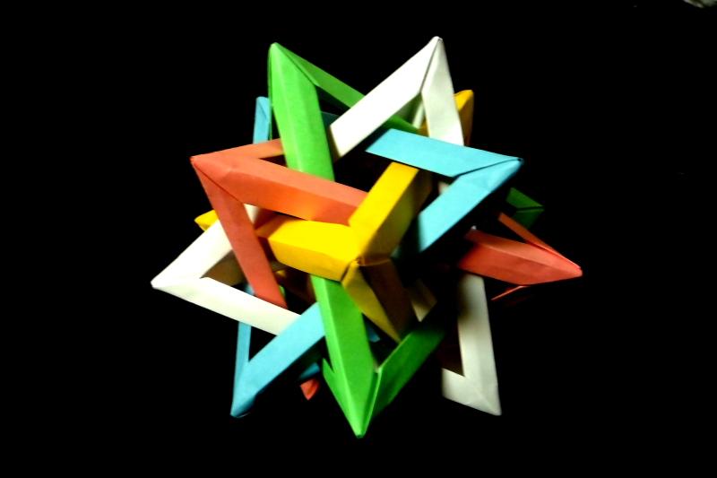 ユニット 30枚組 6 ~Five ... : 折り紙難しいやつ : すべての折り紙