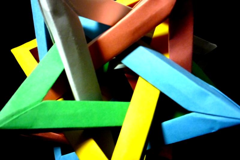ハート 折り紙:折り紙三角錐作り方-megurimegurumono.blog85.fc2.com