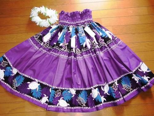 パウスカート紫