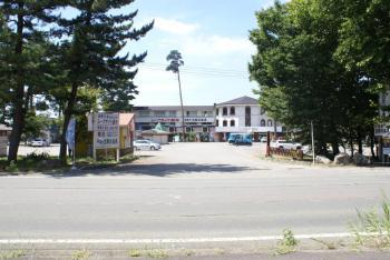 駅前に宿泊施設