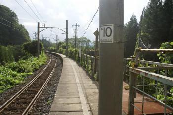 八ツ森駅ホーム全景