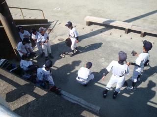 5月5日の練習試合の様子①