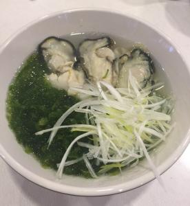 牡蠣ラーメン