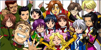 Sakura Wars2_勝利のポーズ