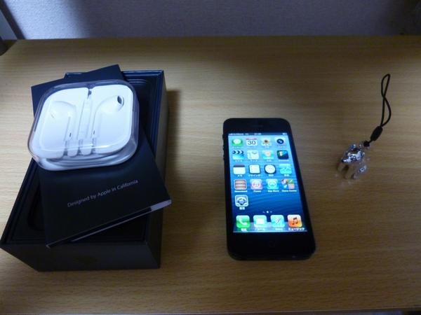 iphone5来る