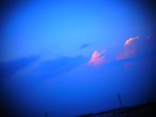 2012.9.10分 土曜日の夕焼け 3