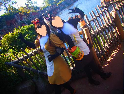 2012.10.29 ディズニーハロウィン当日! ソッコーでw 2