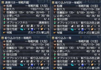 一等戦列造船(3隻目~6隻目)