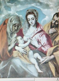 聖アンナのいる聖家族