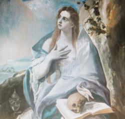 懺悔するマグダラのマリア