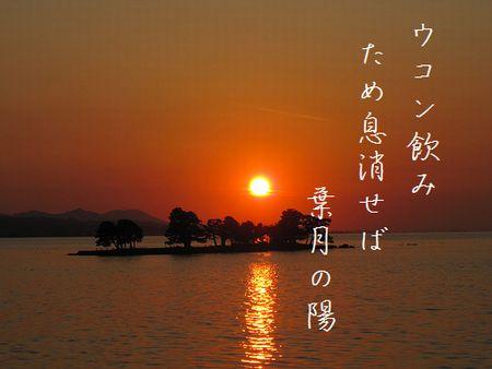 ゆうひ(宍道湖)文字入