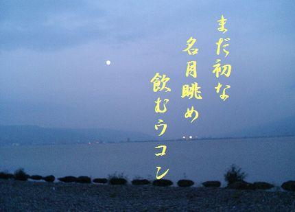 つき(諏訪湖)文字