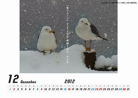 かもめ(親不知)カレンダー460