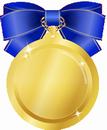 メダル青小