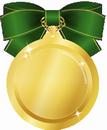 メダル緑小