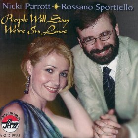 Nicki Parrott & Rossano Sportiello(People Will Say We're in Love)