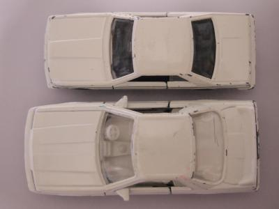 トミカ スカイラインGTS RS 大きさ比較