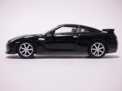 日産GT-R サイド