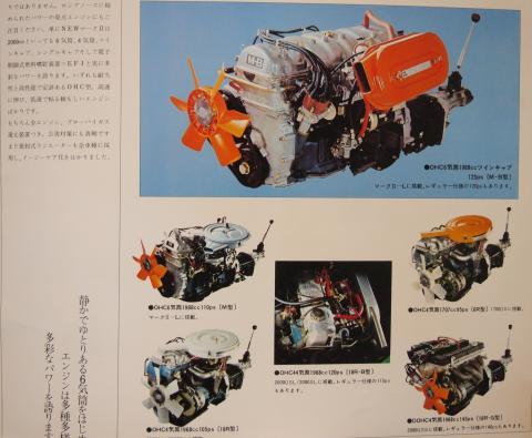 72年7月 マークⅡHT エンジン
