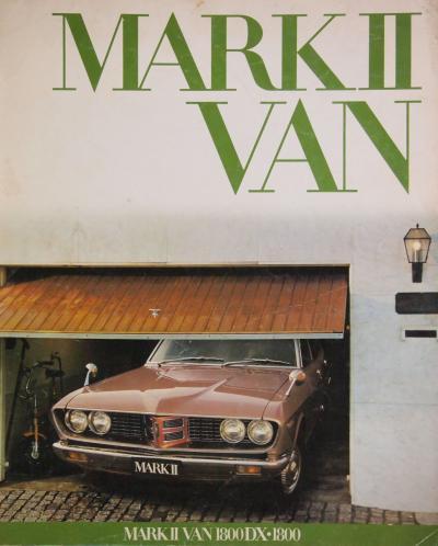 75年4月 マークⅡバン カタログ