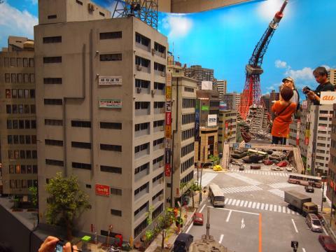 特撮博物館 ビル模型
