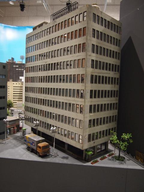 特撮博物館 ビル模型3
