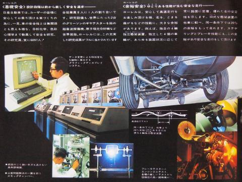 1969年 ローレル 開発姿勢
