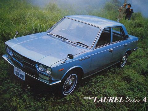 1969年 ローレル DX-A