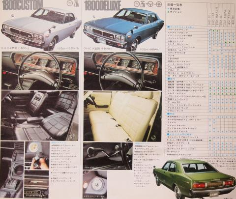 1972年10月 ローレルセダン グレード3