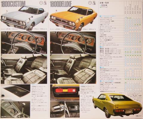 1972年10月 ローレルHT グレード3
