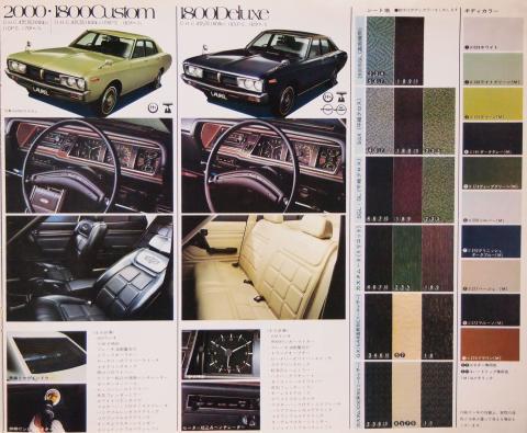 1973年11月 ローレルセダン グレード3