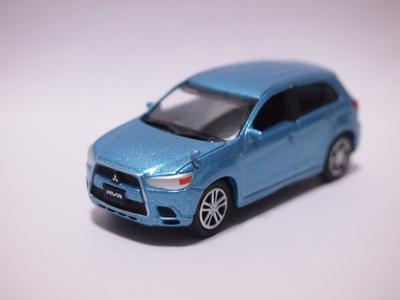 三菱RVR ブルー フロント