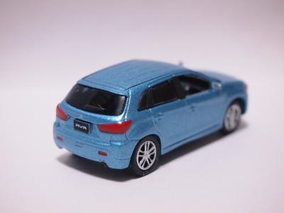 三菱RVR ブルー リア