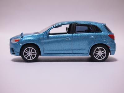 三菱RVR ブルー サイド