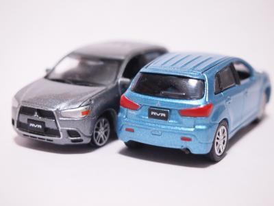 三菱RVR ブルー グレー 2